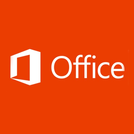 Rotes Logo von MS Office